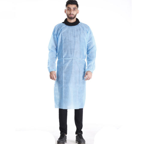 non woven visitor gown